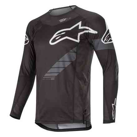 Abbigliamento Cross Techstar Graphitschwarz Anthrazit Alpinestars