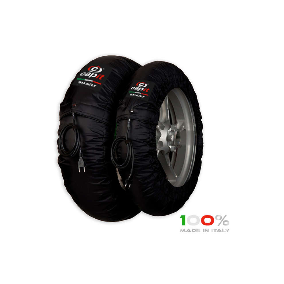 Accessori Set termocoperte Smart M/Xl Blk230v CAPIT