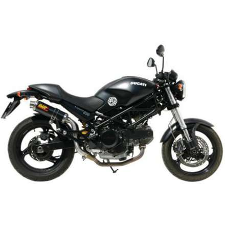 Ad.019.l6s 2 Slip-on Titanio Gp Alto Per Ducati Monster 695 Mivv