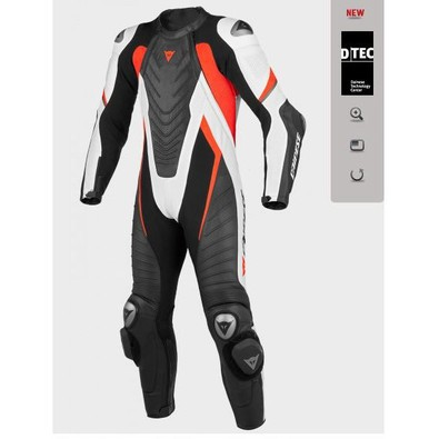 Aero Evo Professional C2 Suit black-white-red fluorescent Dainese