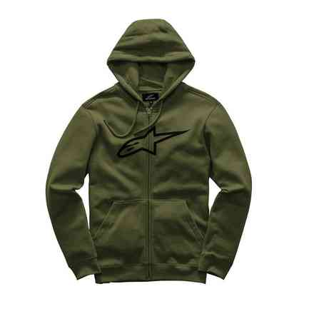 Ageless Military Green Sweatshirt Alpinestars
