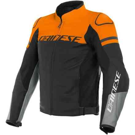 Agile jacket black orange grey Dainese