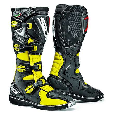 Agueda yellow fluo-black Boots Sidi