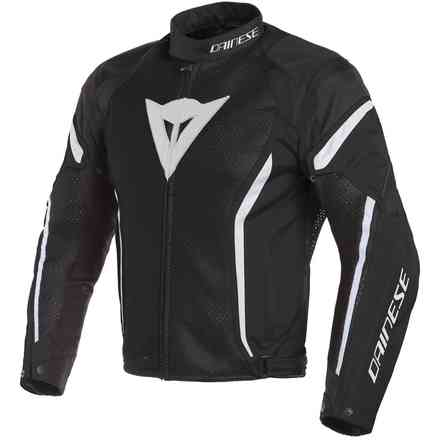 Air Crono 2 Tex jacket black white Dainese