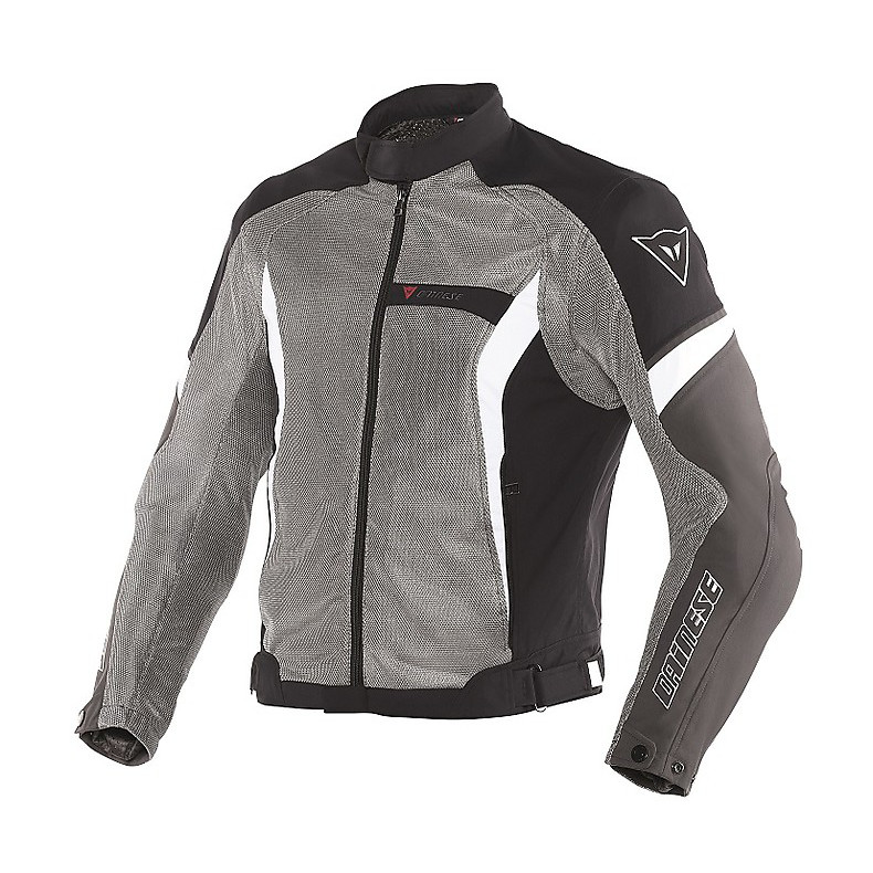 Air Crono tex jacket  anthracite-black-white Dainese