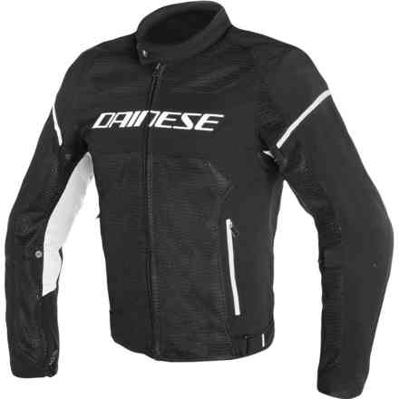 Air Frame D1 Tex jacket black white Dainese