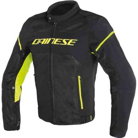 Air Frame D1 Tex jacket black yellow fluo Dainese
