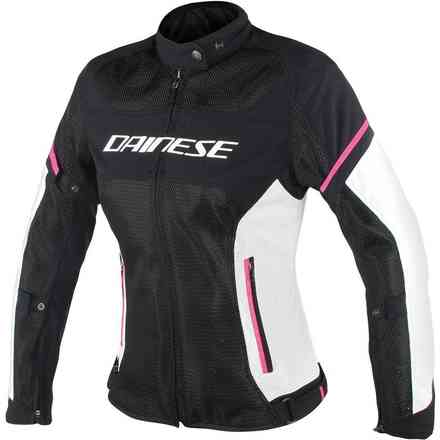 Air Frame D1 Tex jacket Lady black white Dainese