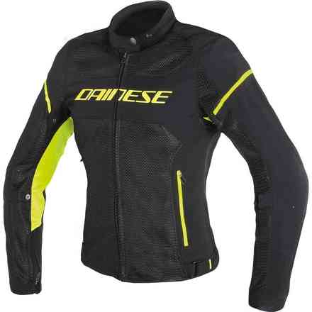 Air Frame D1 Tex jacket Lady black yellow fluo Dainese