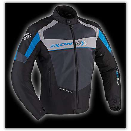 Alloy  Black / Blue/Grey  Jacket Ixon