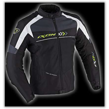 Alloy  Black / White / Green  Jacket Ixon