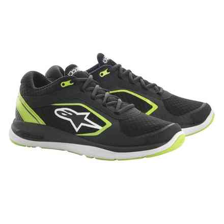 Alloy shoes black green Alpinestars