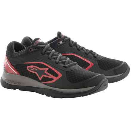 Alloy shoes black red Alpinestars