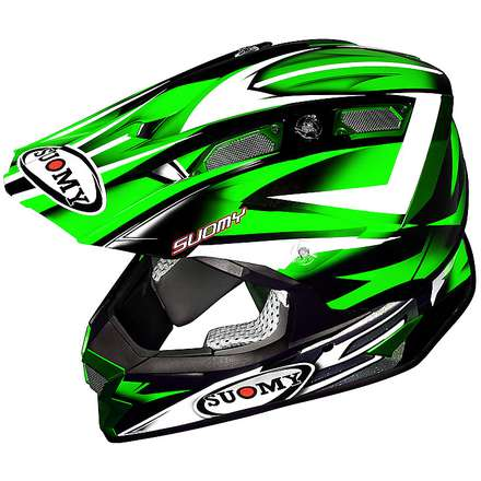 Alpha Bike Green Helmet Suomy