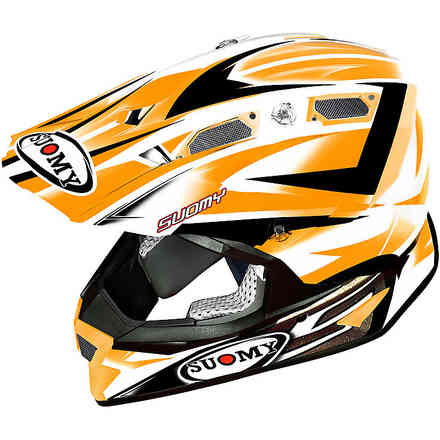 Alpha Bike Orange Helmet Suomy