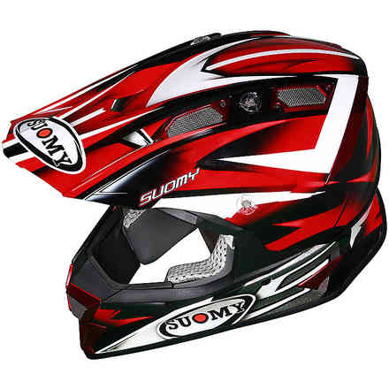 Alpha Bike Red Helmet Suomy