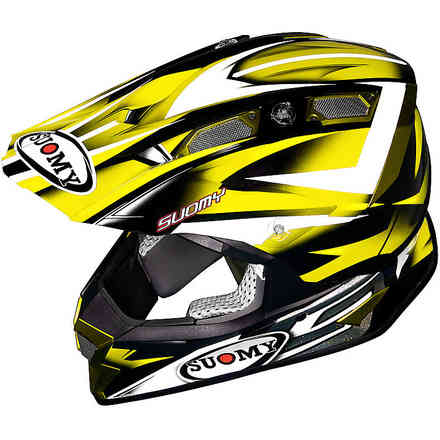 Alpha Bike Yellow Helmet Suomy