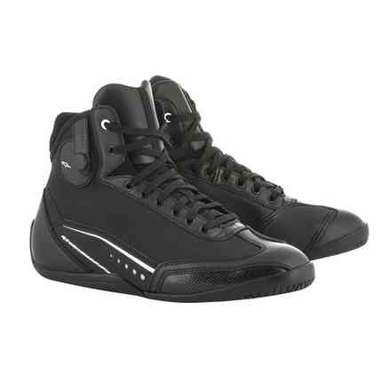 Alpinestars Stella Ast-1 Drystar Shoes Black White Alpinestars
