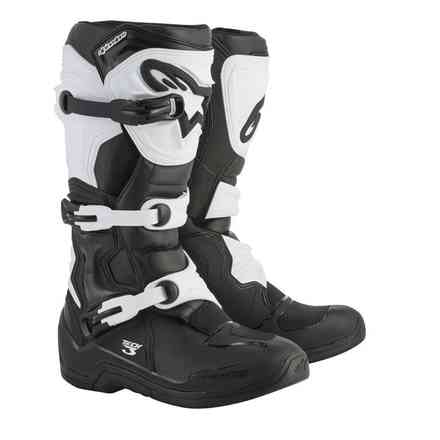 Alpinestars Tech 3 Black-White Boots Alpinestars