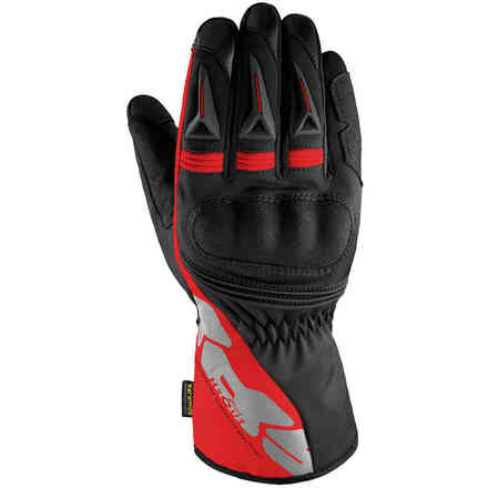 Alu-Pro black Red Gloves Spidi