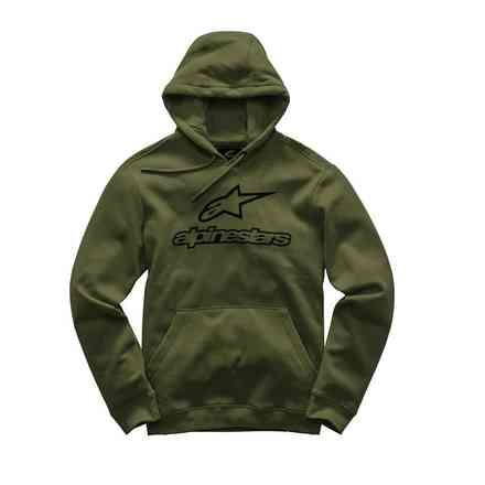 Always fleece e Military Green Alpinestars
