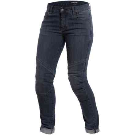 Amelia Slim Lady pant dark denim Dainese