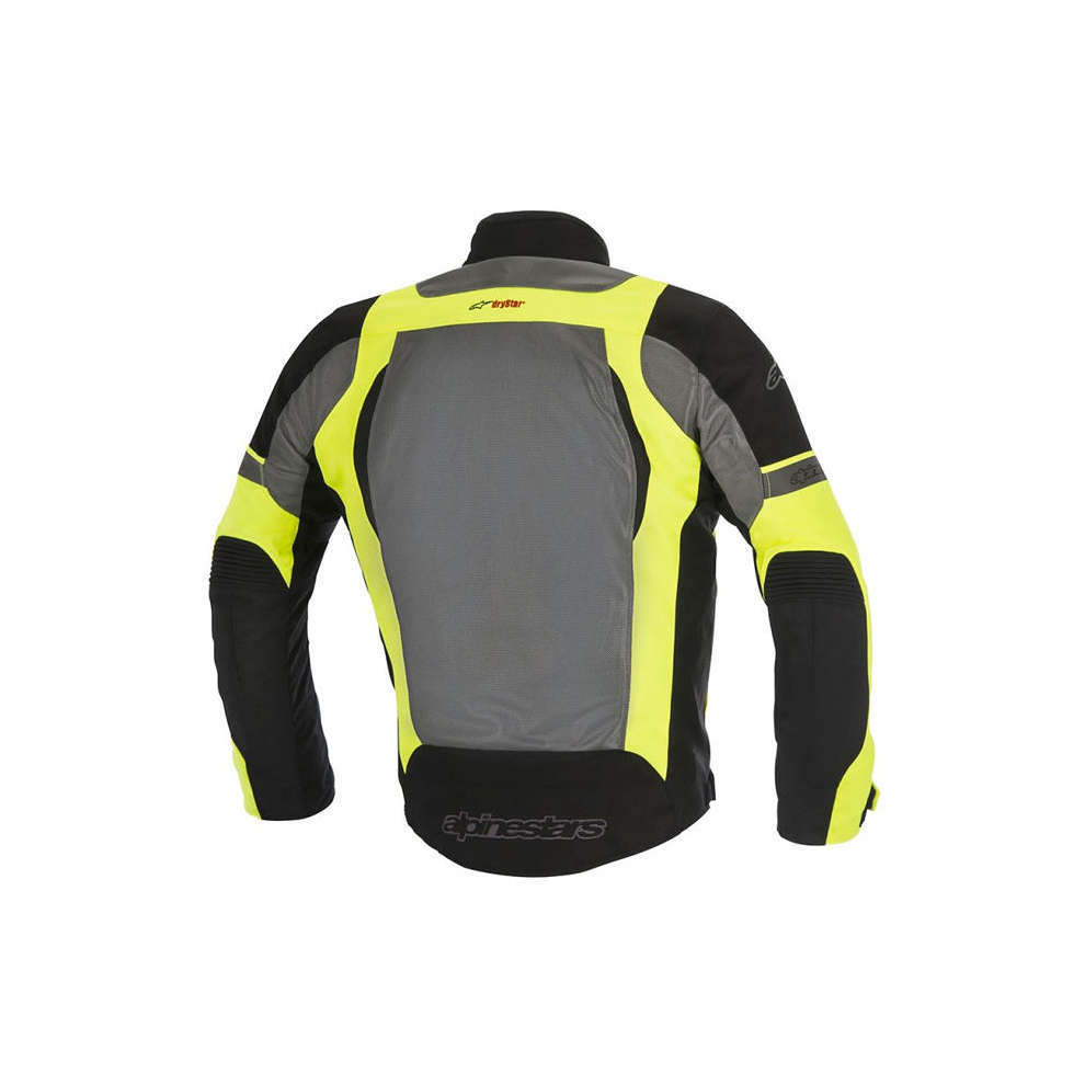 Amok Air Drystar black-gray-yellow fluo Jacket  Alpinestars