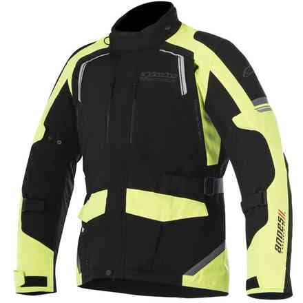 Andes V2 Drystar jacket black yellow fluo Alpinestars
