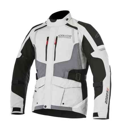 Andes V2 Drystar jacket light gray black Alpinestars