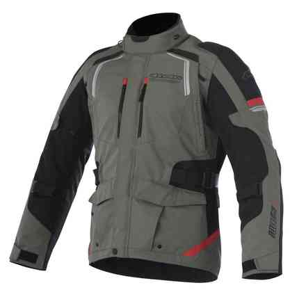 Andes V2 Jacket Drystar military green Alpinestars