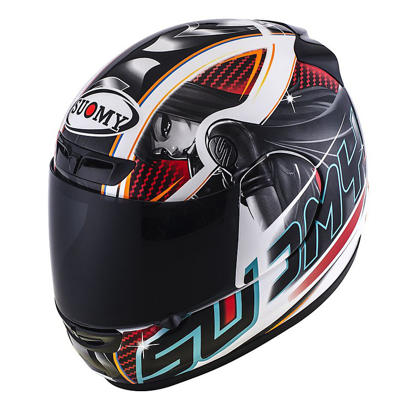 Apex Pike red Helmet Suomy