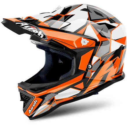 Archer Chief orange Helmet Airoh