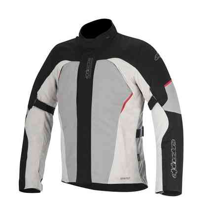 Ares jacket Gore-Tex 2017 black grey red Alpinestars