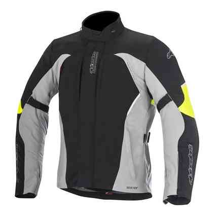 Ares jacket Gore-Tex 2017 black grey yellow Alpinestars