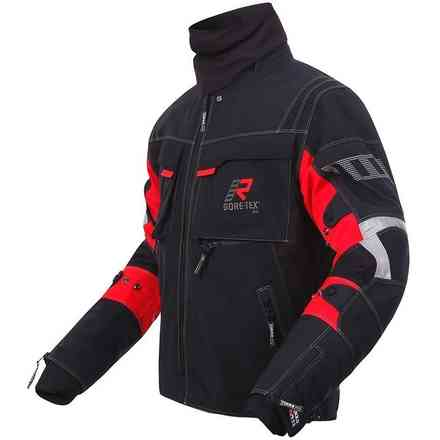 Armaxis Gtx jacket black red RUKKA