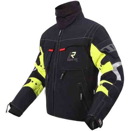 Armaxis Gtx jacket black yellow RUKKA
