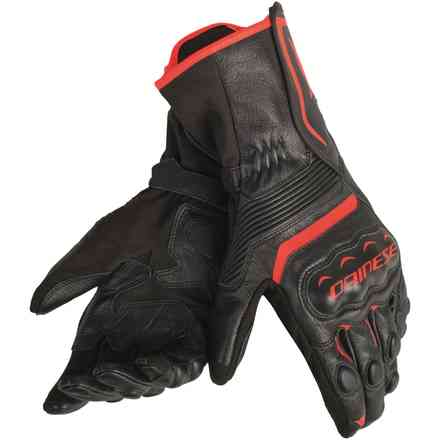 Assen gloves black red fluo Dainese