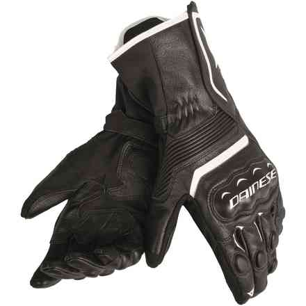 Assen gloves black white Dainese