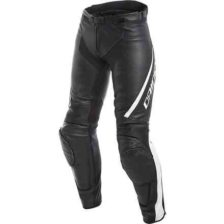 Assen Lady pant black white Dainese