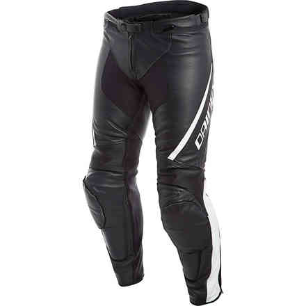 Assen Perforated pants black white Dainese