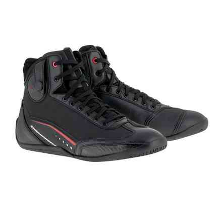 Ast-1 Drystar Shoes Black Red Alpinestars