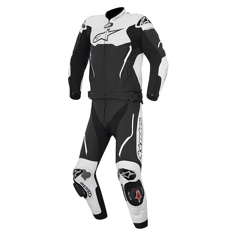 Atem 2 pieces Suit 2015 black-white Alpinestars