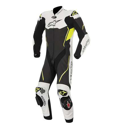 Atem Suit 2015 black-white-yellow fluo Alpinestars