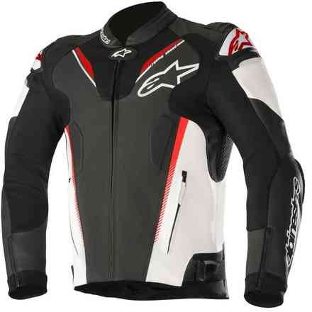 Atem V3 black white red fluo Alpinestars