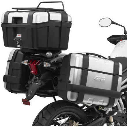 Attack for Triumph Tiger 800/11 rear case Givi