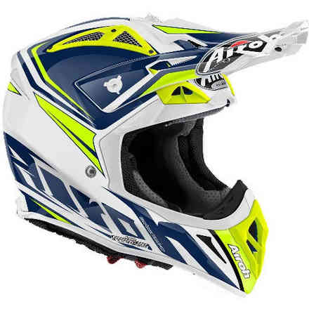 Aviator 2.2 Ready helmet Blue gloss Airoh
