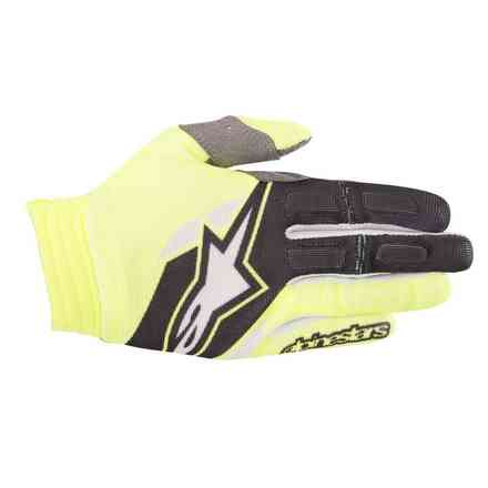 Aviator 2018 gloves yellow fluo black Alpinestars