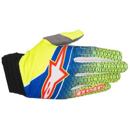 Aviator blue-yellow-red  Gloves  Alpinestars