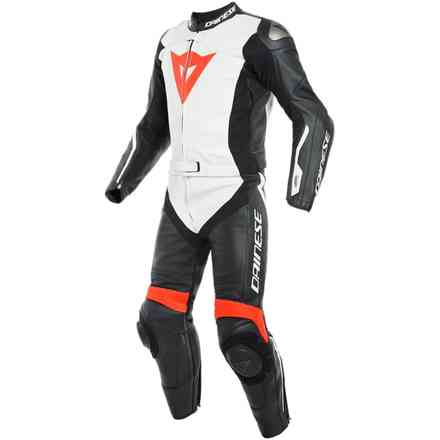 Avro D-Air 2pcs suit black white red Dainese