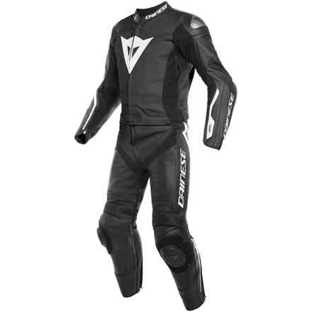 Avro D-Air 2pcs suit Black/White Dainese